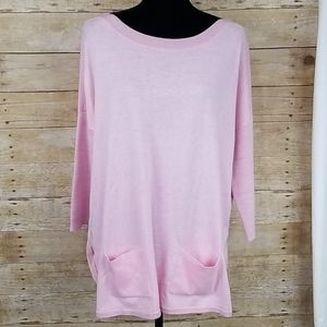Lilly Pulitzer Cobo Boatneck Pink Sweater